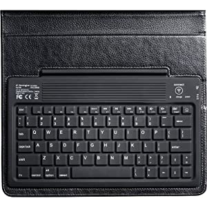 Kensington KeyFolio Bluetooth Keyboard Case For iPad/iPad2, Black (KMW39336)