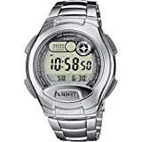 Casio Lap Memory Digital watch for men With Illumination (Color: grey)