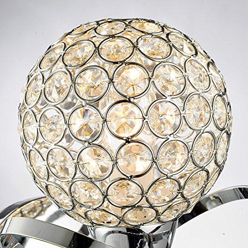 Lampe de chevet lampe murale moderne de cristal