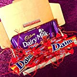 The Ultimate Daim Chocolate Treat Box - Daim Bar, Cadbury Dairy Milk With Daim, and Miniature Daims - By Moreton Gifts