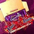 The Ultimate Daim Chocolate Treat Box - Daim Bar, Cadbury Dairy Milk With Daim, and Miniature Daims - By Moreton Gifts