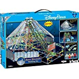 Disney Store Deluxe K-Nex Space Mountain Motorized Building Set Roller Coaster