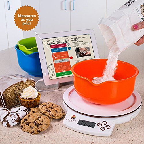 Perfect bake 1 0 smart scale and recipe app kitchen tool for Perfect bake pro amazon