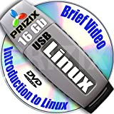 Linux on 16Gb USB Flash and 5-DVDs, Installation and Reference Set, 32-bit: CentOS 6, Ubuntu 12.10, Debian 6 and Kubuntu 12.10