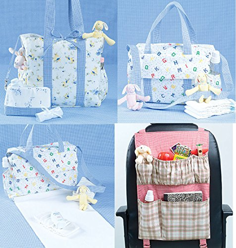 Mccall'S Patterns M4403 Diaper Bags And Car Organizer, One Size Only