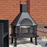 Outdoor Garden Fire Place Log Burner...