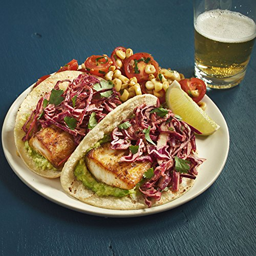Fish Tacos with Chipotle Crema by Chef'd Partner Men's Health (Dinner for 2)