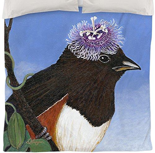 Thumbprintz Duvet Cover, Queen/Full, You Silly Bird Donna front-473500