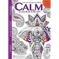 1-Year (6 Issues) of Calm Color Create Magazine Subscription