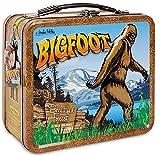 Bigfoot Sasquatch Cryptid Metal Retro Lunchbox