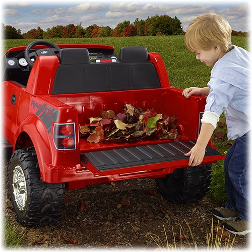 Fisher Price Power Wheels Red Ford F150 Raptor 12 Volt Battery Powered Ride On