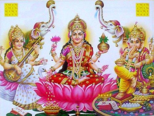 lakshmi-ganesha-saraswati-poster-reprint-on-paper-20x16-inches