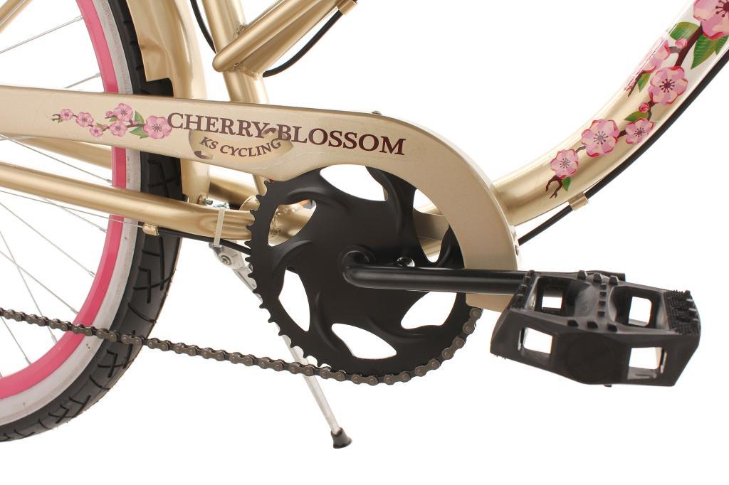 ks cycling damen fahrrad beachcruiser cherry blossom rh 42. Black Bedroom Furniture Sets. Home Design Ideas