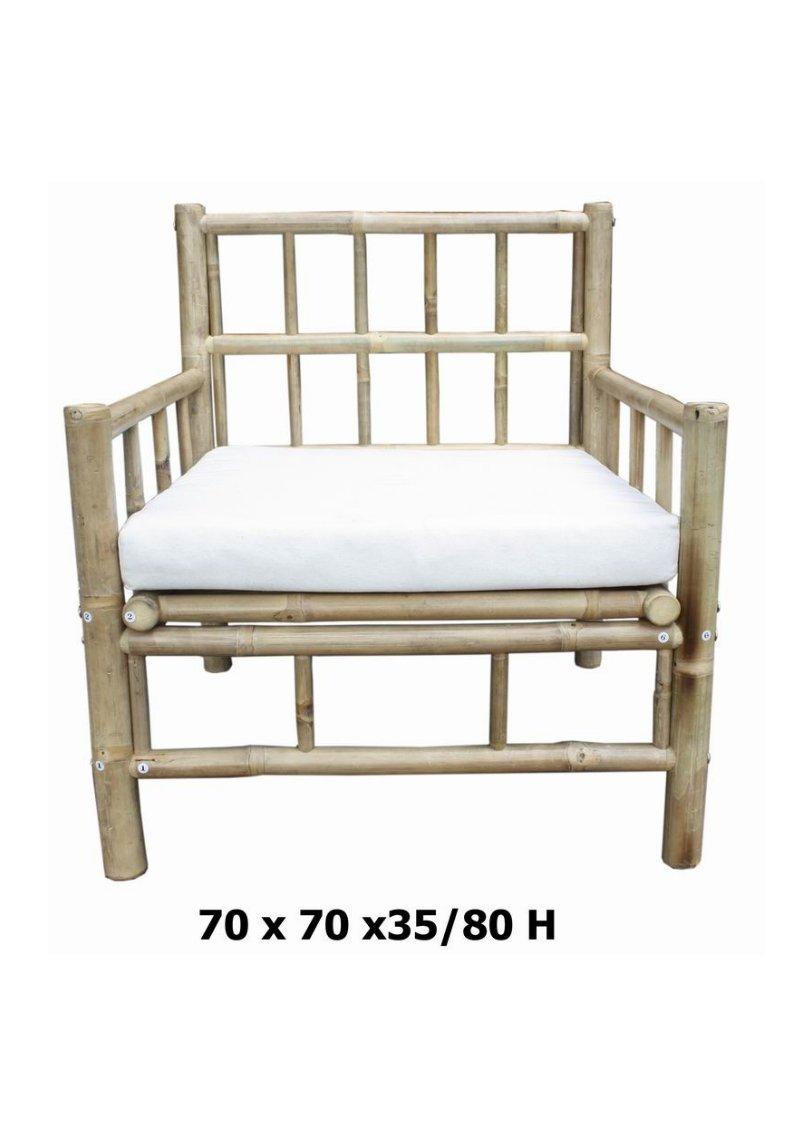 Bambusstuhl,Gartenstuhl,Bambus-Sessel,Armlehner, jetzt bestellen