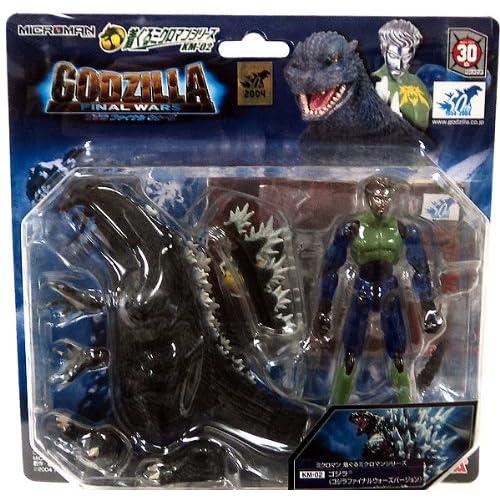 Godzilla Japanese Microman Figure Godzilla Final Wars Version (km02