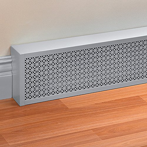 "Decorative Baseboard Cover 18""W X 10""H - Black, 3"" - Improvements"