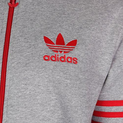 adidas Originals Men's Full Zip Fleece Tracksuit Top