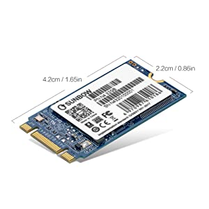 TCSUNBOW M.2 2242 32GB SSD NGFF 240GB 256GB Solid State Drive Disk for Ultrabook Desktop PCs and Mac Pro (2242mm) (32GB) (Color: 32GB, Tamaño: 32GB)