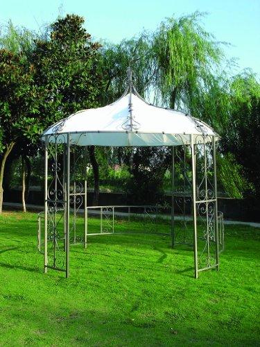 metall pavillon rund storeamore. Black Bedroom Furniture Sets. Home Design Ideas
