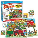 Fun at the Farm (Seek & Play Puzzles)