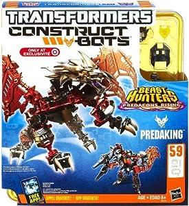 Construct-A-Bots Predacons Rising Predaking Buildable Action Figure-Transformers