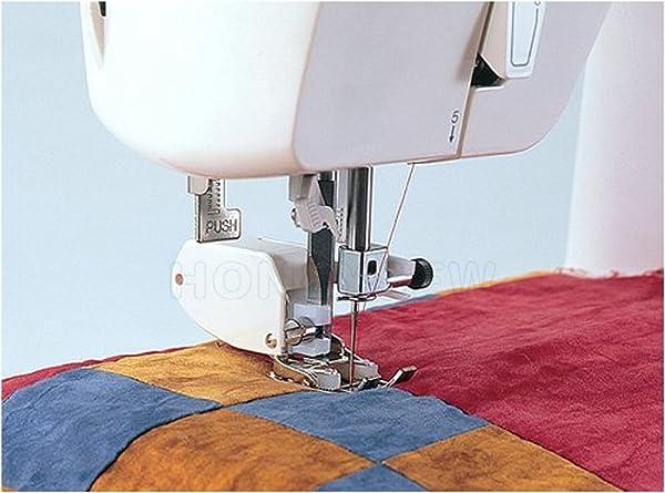 HONEYSEW Presser Foot SA107 Walking Foot Low Shank for Brother Singer Juki Sewing Machine (Color: SA107-Brother Walking Foot)