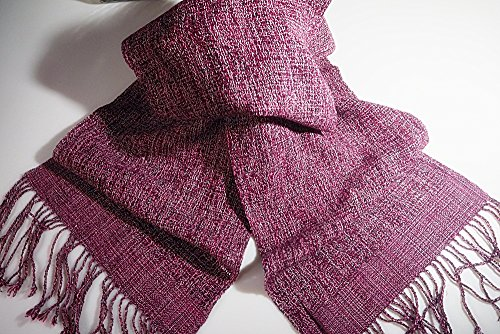 Great Women Scarf Woven Handmade from Northern Thailand Warm Comfortable Winter (Reed Broom compare prices)