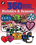 The Red Book of 360 Reward Stickers for Holidays and Seasons, Grades PK - 6