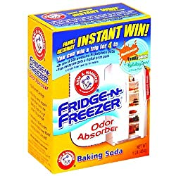 Arm & Hammer Baking Soda Fridge Freezer Package, 16-Ounce