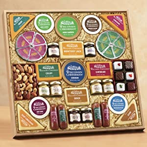Wisconsin Cheeseman Grand Food Gift Assortment
