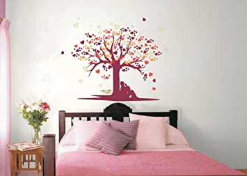 asian paints nilaya tree of love wall stickers - Asian Paints Wall Design