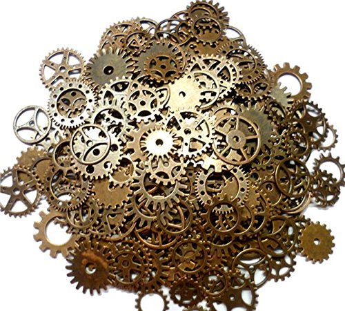ASVP ShopÃ'® Steampunk Cyberpunk Watch Parts Vintage Gears Wheels Cogs Jewellery Making Crafts Art by ASVP Shop