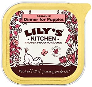 Lily's Kitchen Organic Dinner for Puppies 150g(Pack of 11)