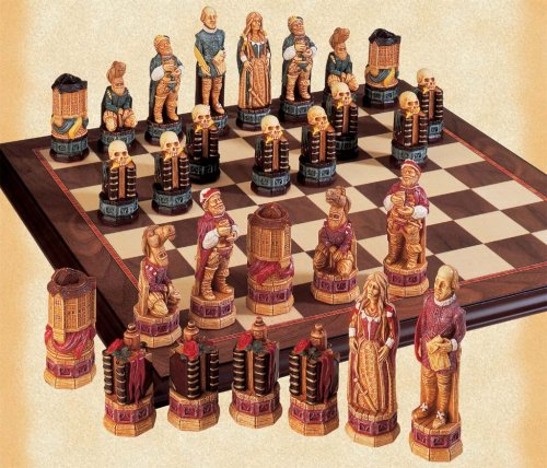 Buy The William Shakespeare and the Globe Theatre Chessmen