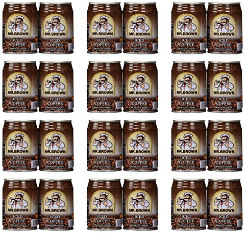 Mr. Brown Iced Coffee, 8.12-Ounce (Pack of 24) (Mr Brown Ice Coffee compare prices)