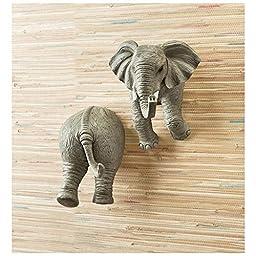 Elephant Wall Coat Hooks