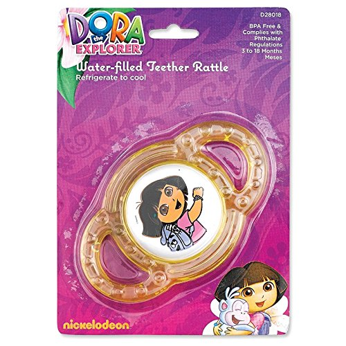 Nickelodeon Dora Water-Filled Teether - 1