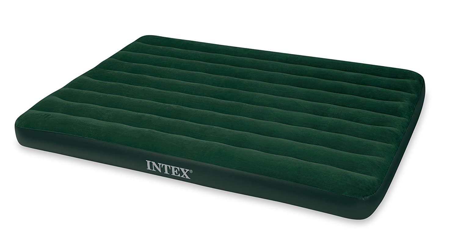 ntex Prestige Downy Airbed Kit with Hand Held Battery Pump, Queen
