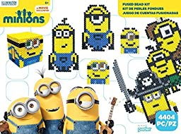 Perler Beads 80-54173 Minions Perler Activity Kit, Large, Yellow by STAR-MOON TOYS (HK) COMPANY LTD