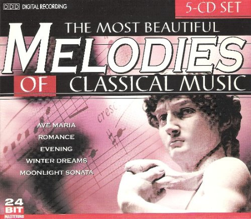 Brahms - The Most Beautiful Melodies of Classical Music, Vol. 1-5 (Box Set) - Zortam Music