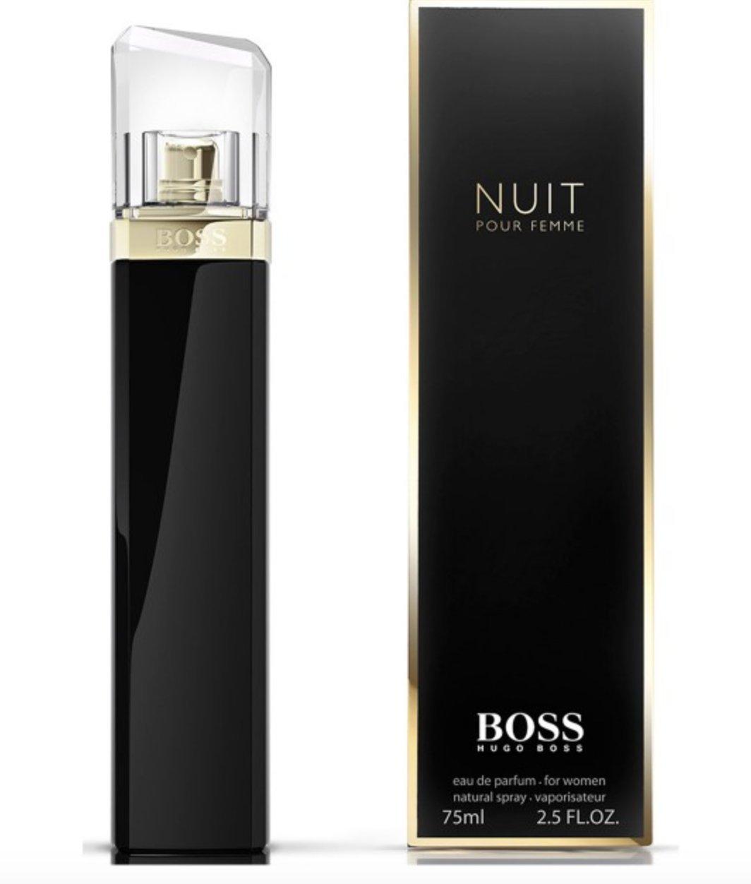 BOSS NUIT POUR FEMME BY HUGO BOSS 75ML 2.5OZ EDP SP парфюмированная вода hugo boss boss nuit intense pour femme