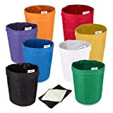 VIVOSUN 5-Gallon 8-Bag Herbal Ice Bubble Hash Bag Essense Extractor Kit Filtration Bags/Set (Color: Eight-Color Per Set, Tamaño: 5-Gallon 8-Bag)