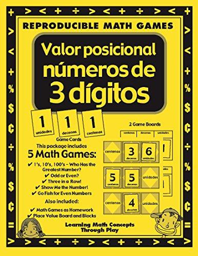 Lori Wolfe - Valor Posicional Con Numeros de 3 Digitos - Math Games & Lesson Plans (English Edition)