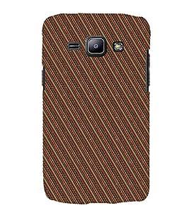 Slant Line Design 3D Hard Polycarbonate Designer Back Case Cover for Samsung Galaxy J2 (2015) :: Samsung Galaxy J2 J200F