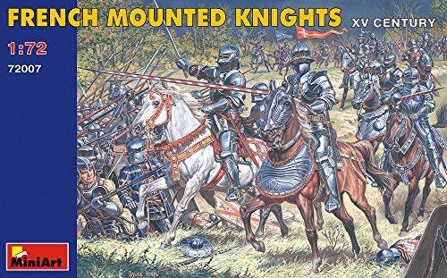 Mini Art Plastics French Mounted Knights - XV Century - 1