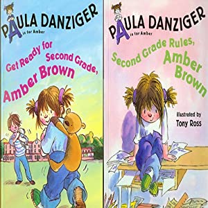 'Get Ready for Second Grade, Amber Brown' and 'Second Grade Rules, Amber Brown' Audiobook