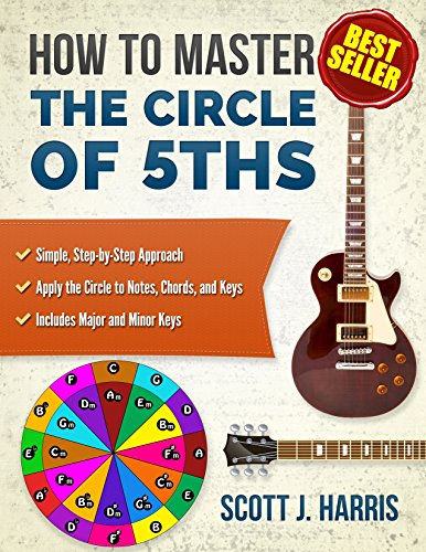 Guitar: How to Master the Circle of 5ths: Simple, Step-by-Step Approach. Apply the Circle to Notes, Chords, and Keys. Includes Major and Minor Keys. (Scott's Straightforward Guitar Lessons Book 3) PDF