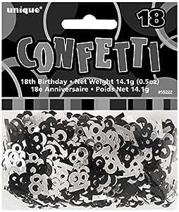 Âge Noir et Argent 18 Confetti