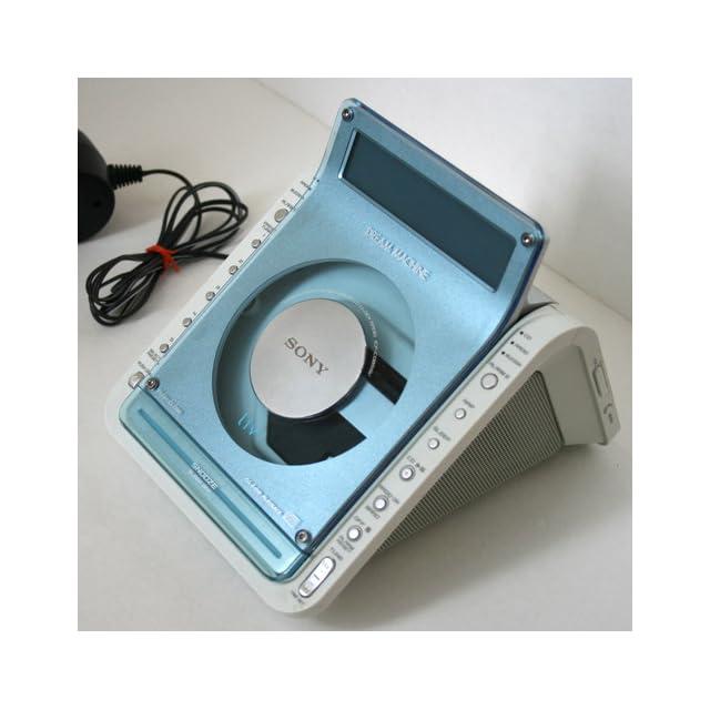 Sony ICF CD855v CD Alarm Clock Radio Electronics