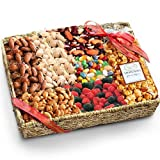 Fathers Day Sweets and Nuts Grand Gift Basket